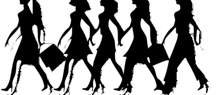 נשים מסביב לעולם הולכות נגד הזרם